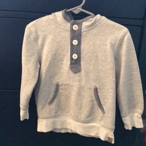 Boys Grey hoodie sweater